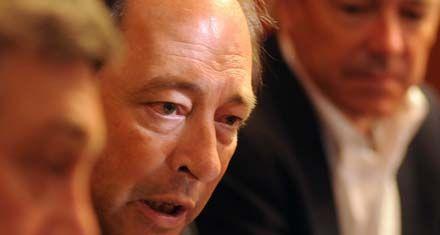 Sanz postuló a Barletta como su sucesor en la presidencia de la UCR