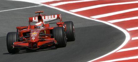 F1: las Ferrari de Raikkonen y Massa dominan en las prácticas de Barcelona