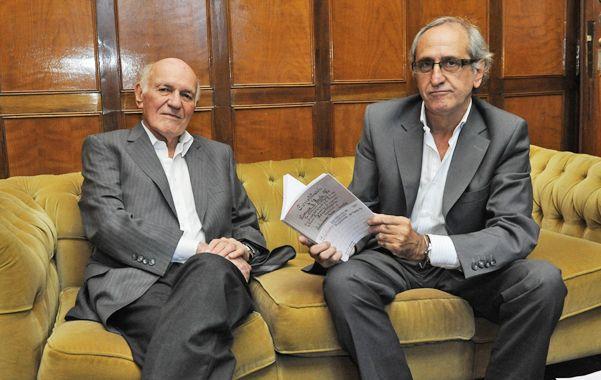 Expertos. Defante y Blando aportan con su estudio a una discusión actual. (Foto: A. Amaya)