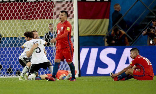 El error individual que le costó la derrota a Chile en la final de la Copa Confederaciones