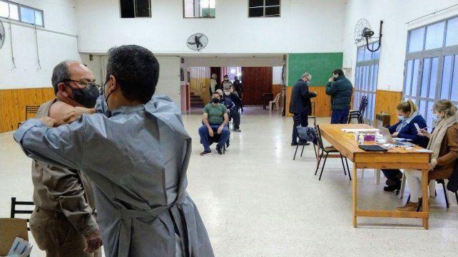 Más de la mitad de la población de San Jerónimo Sud ya tiene colocada al menos una dosis de la vacuna contra el Covid-19.