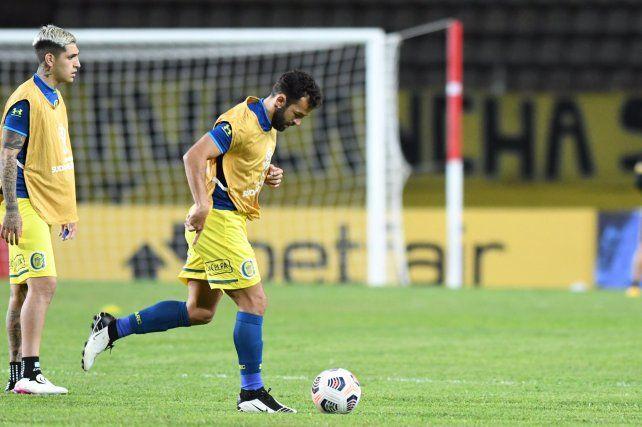 Central contará por primera vez en esta Liga Profesional con el atacante Lucas Gamba.