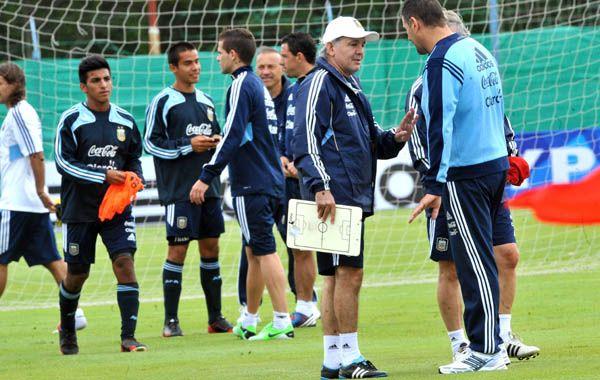 El DT de la selección argentina.