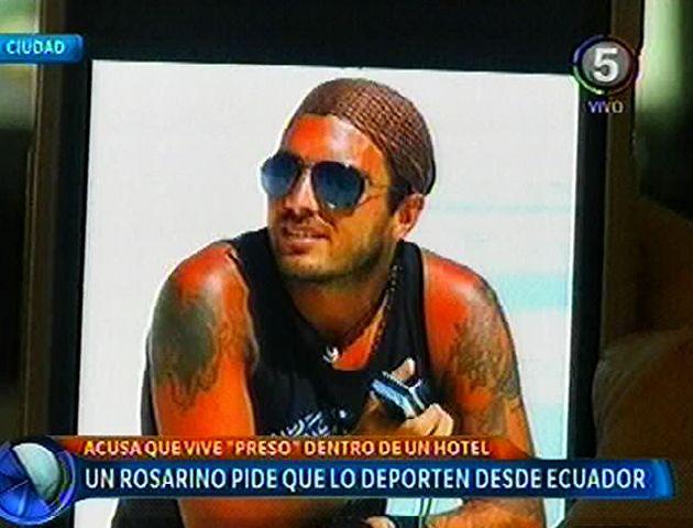 Un tatuador rosarino se encuentra retenido en Ecuador y pide ayuda
