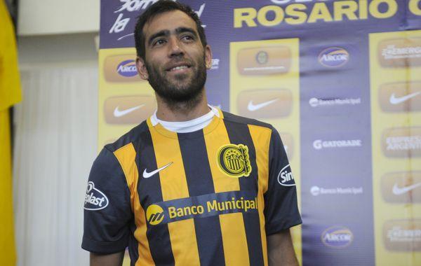 Delgado continúa trabajando en la readaptación al fútbol argentino.