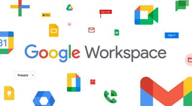 Ya está disponible Google Workspace, la herramienta que reemplaza a G Suite