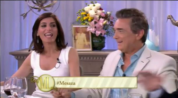 Miolne y Artaza se mostraron muy felices en lo de Mirtha.