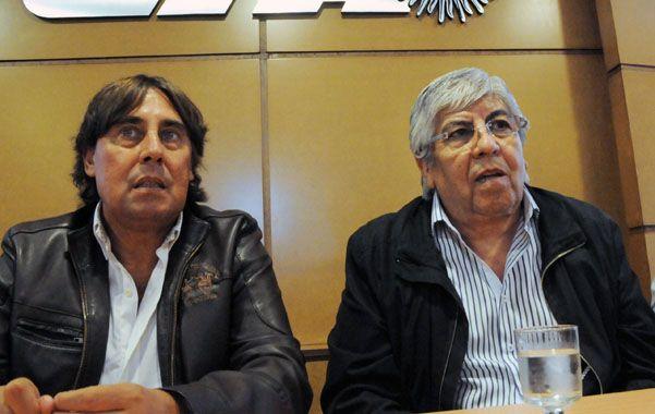 En sintonía. Micheli y Moyano comparten una agenda de reclamos y críticas hacia el gobierno nacional.