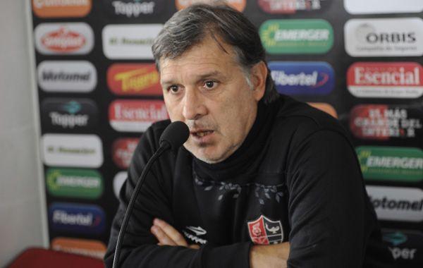 El técnico contó que su reemplazante Alfredo Berti ya trabaja junto al actual cuerpo técnico para iniciar la sucesión.