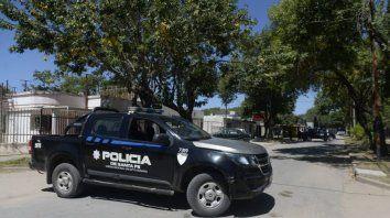 Buenos Aires al 2600, barrio Coronel Aguirre de VGG. A plena luz del día una vivienda recibió más de 20 balazos en dos ataques.