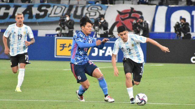 La selección argentina viene de disputar amistosos con Japón