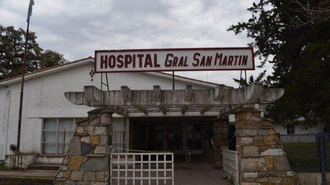 El Hospital de Firmat presenta falencias de infraestructura desde hace años.