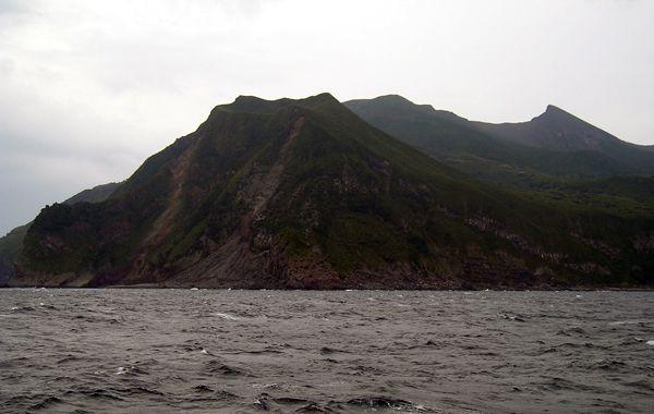 En los alrededores del monte Shindake se evacuaron a todos los habitantes.