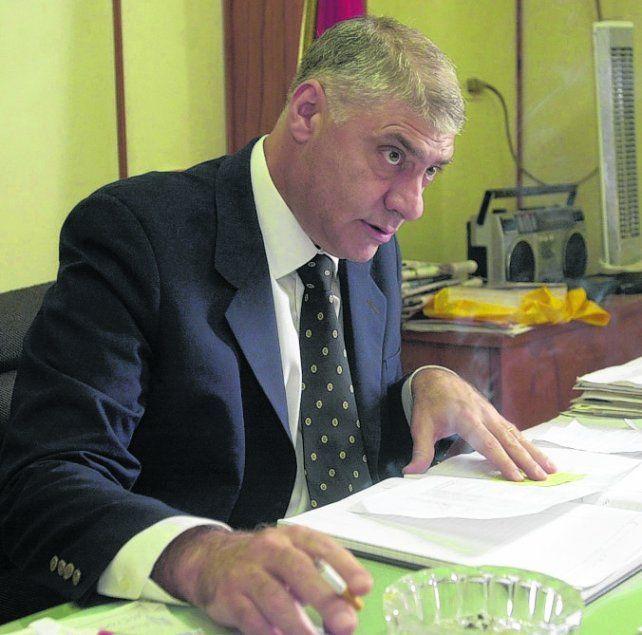 al mando. Milicic fue jefe de policía provincial de Carlos Reutemann.