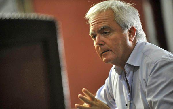 Pinedo es uno de los promotores del juicio político al vicepresidente Amado Boudou en la Cámara de Diputados.