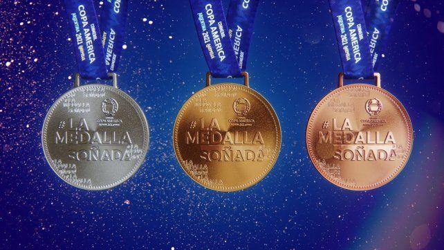 Conmebol cuenta en un video cómo es La medalla soñada de la Copa América