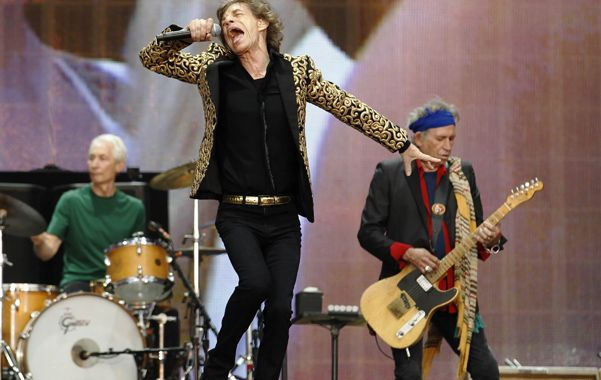 El tiempo está de mi lado. Los Stones se mostraron en plena forma en Hyde Park. Tocaron ante 65.000 personas.