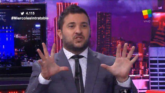 Diego Brancatelli le hizo un  fuerte reclamo a Twitter por la cuenta falsa de Martín Guzmán