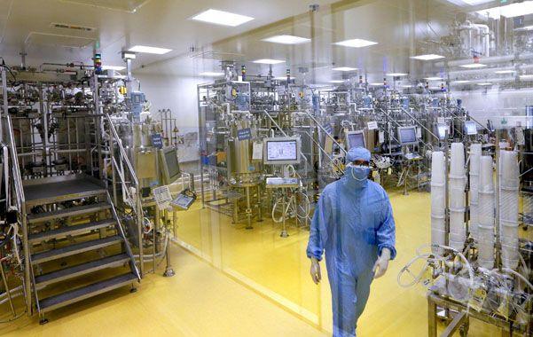 Investigación. Una vista del laboratorio de Sanofi Pasteur