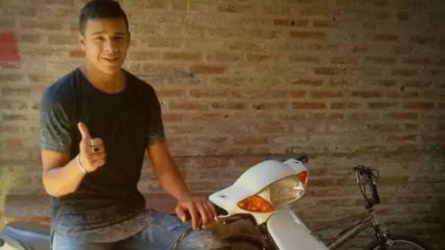Matías Ibáñez tenía 21 años. Un balazo en el tórax terminó con su vida en mayo pasado.
