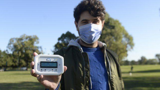 El dispositivo ventilemos que será utilizado para las mediciones de CO2.