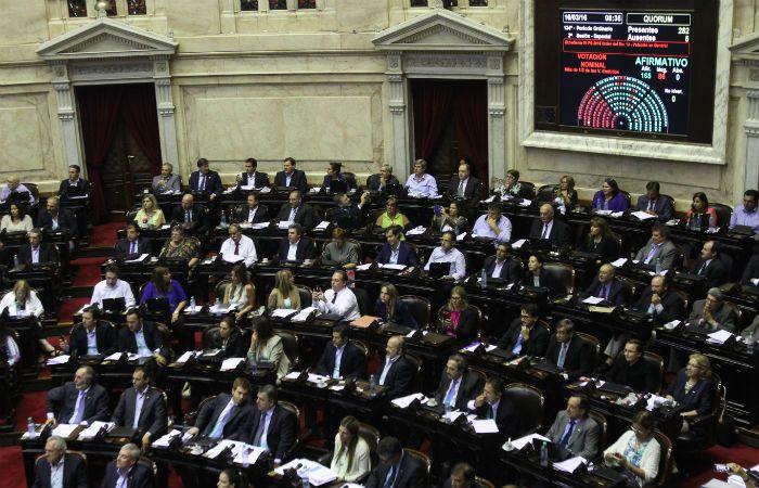 La sesión en la Cámara de Diputados había comenzado ayer al mediodía y se extendió hasta esta madrugada. (Foto: DyN)