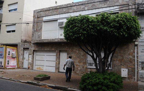 El lugar. La vivienda de Riobamba 1329 asaltada la noche del martes.