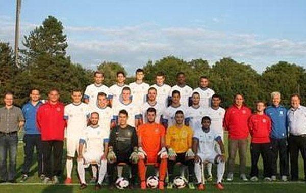 El FC Lenzburg tuvo una alocada fiesta de celebración del título de campeón.