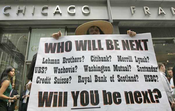 La caída. En septiembre de 2008 quebraba Lehman Brothers