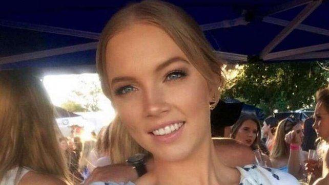 La australiana Sara Zelenak