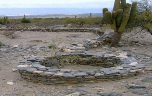Sitio arqueológico. El Fuerte Quemado