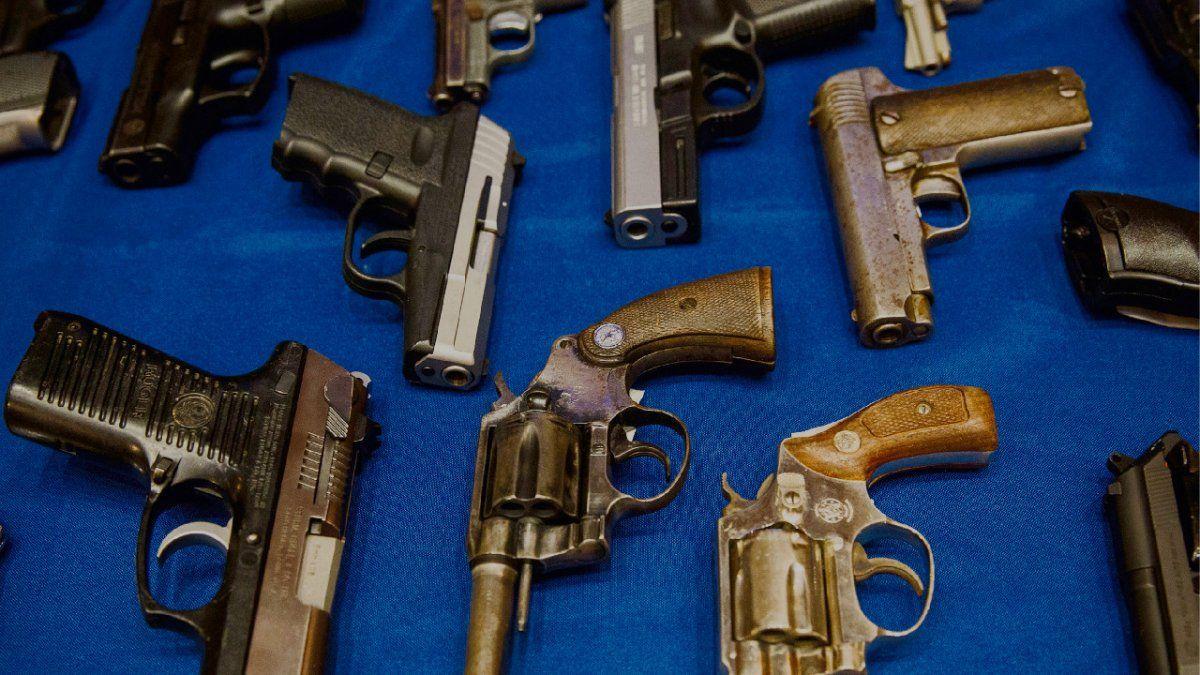 El mercado de las armas de fuego