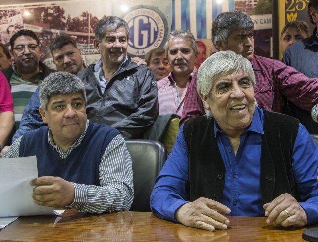 La gente va a reaccionar advirtió Hugo Moyano en caso de que la Justicia detenga a su hijo Pablo.