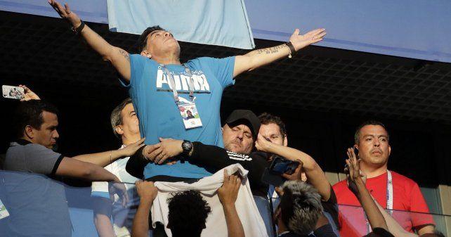Diego fue el verdadero jugador del pueblo