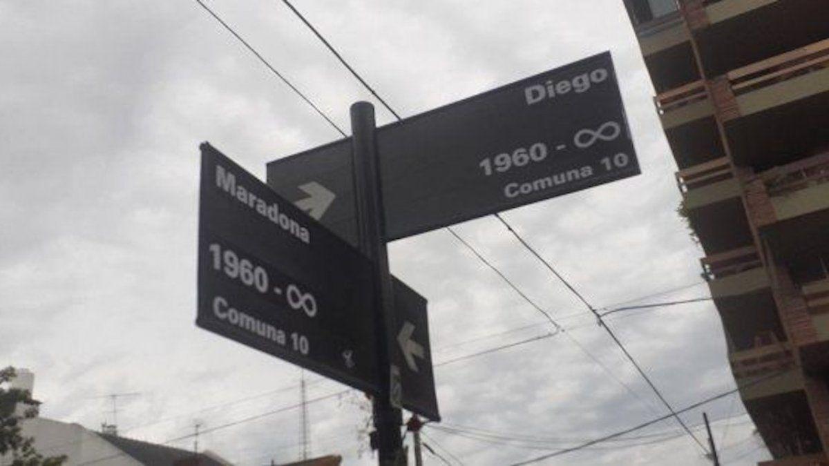 Maradona y el poema de Liliana Campazzo que circula por todos lados - APP