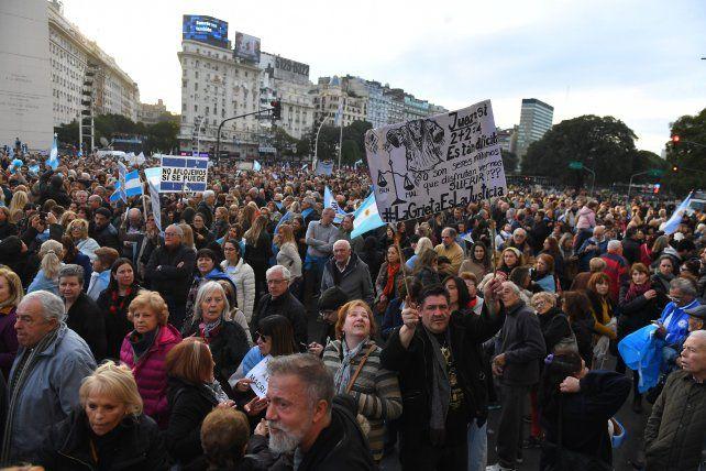 Para el gobierno, la marcha fue una inyección de energía para octubre