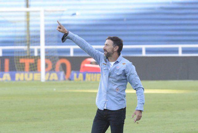 Apunta alto. Cristian González está entusiasmado con el desafío copero.