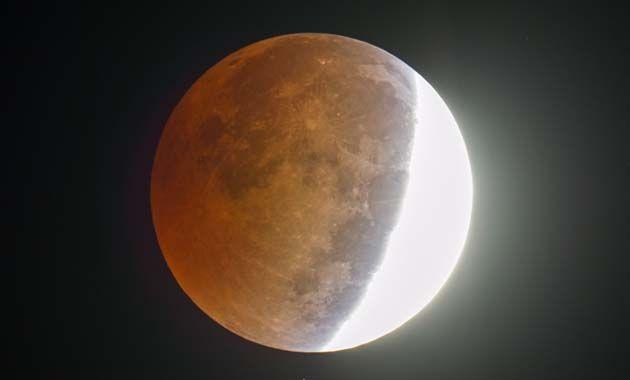 Imágenes del eclipse en Carolina del Norte. (Foto AP)