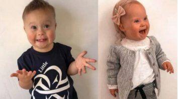 Lenny Rooney, un pequeño de dos años de Liverpool, y Willow Welbourn, que pronto cumplirá dos, de Lincoln, son las estrellas del spot.