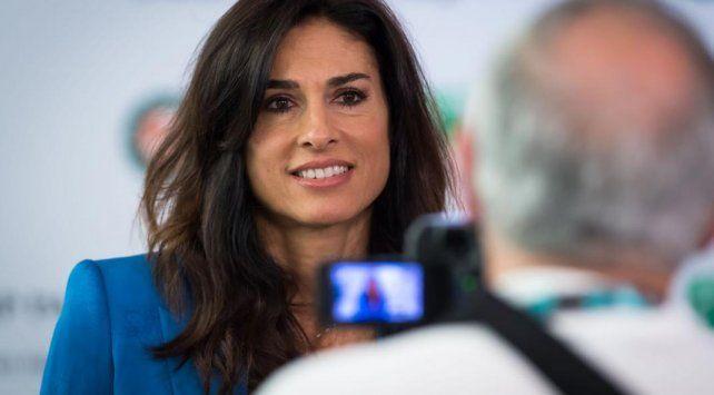 Gaby Sabatini envió un cálido saludo al tenis rosarino
