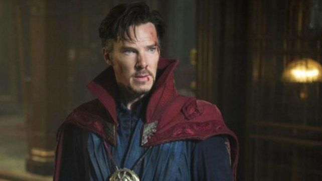 Benedict Cumberbatch como Doctor Strange.