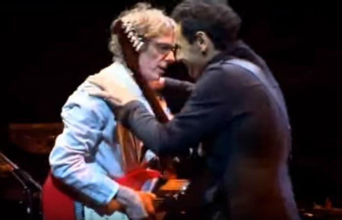 Mollo y Spinetta tocaron juntos en varios recitales.