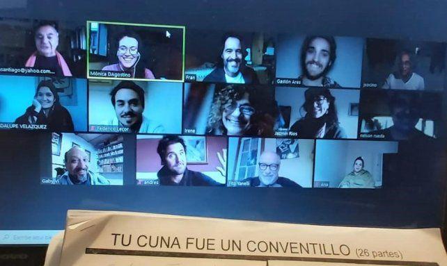 Un elenco de 12 actores participan de la puesta en escena del sainete de Alberto Vaccarezza que cumple un siglo de su estreno
