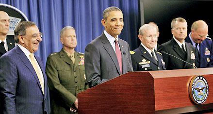 Obama recorta el gasto militar y pone a China como nueva prioridad