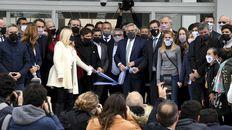 Fernández encabezó la inauguración de la Facultad de Ciencias Médicas de la Universidad Nacional de José C. Paz (Unpaz).
