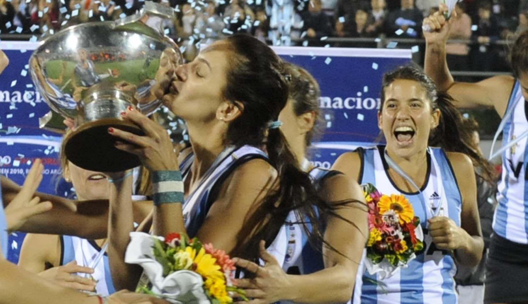 Cinco goles marcó la Maga Aymar en el Mundial de Rosario