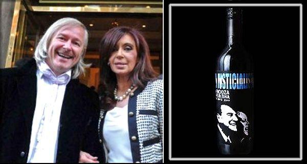 El Justicialista, el vino que rinde tributo a Perón, se lanzó en el bar El Cairo
