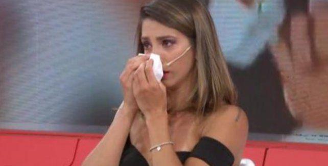 Cinthia Fernández rompió en llanto por un video del rosarino Martín Baclini