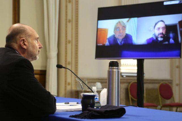 Reuniones virtuales. Perotti conversó ayer con un amplio espectro de acreedores de la agroexportadora.