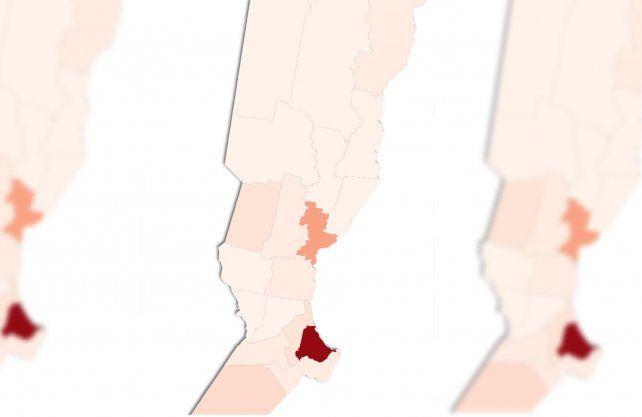 Coronavirus en Santa Fe: la provincia superó los 200 mil casos y así quedó el mapa de contagios